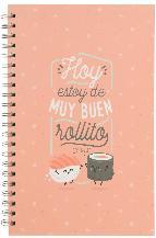 mr. wonderful libreta grande - hoy estoy de buen rollito-8435460715713