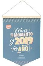 mr. wonderful calendario pared clásico 2019 - este es tu momento y 2019, tu año-8435460736510