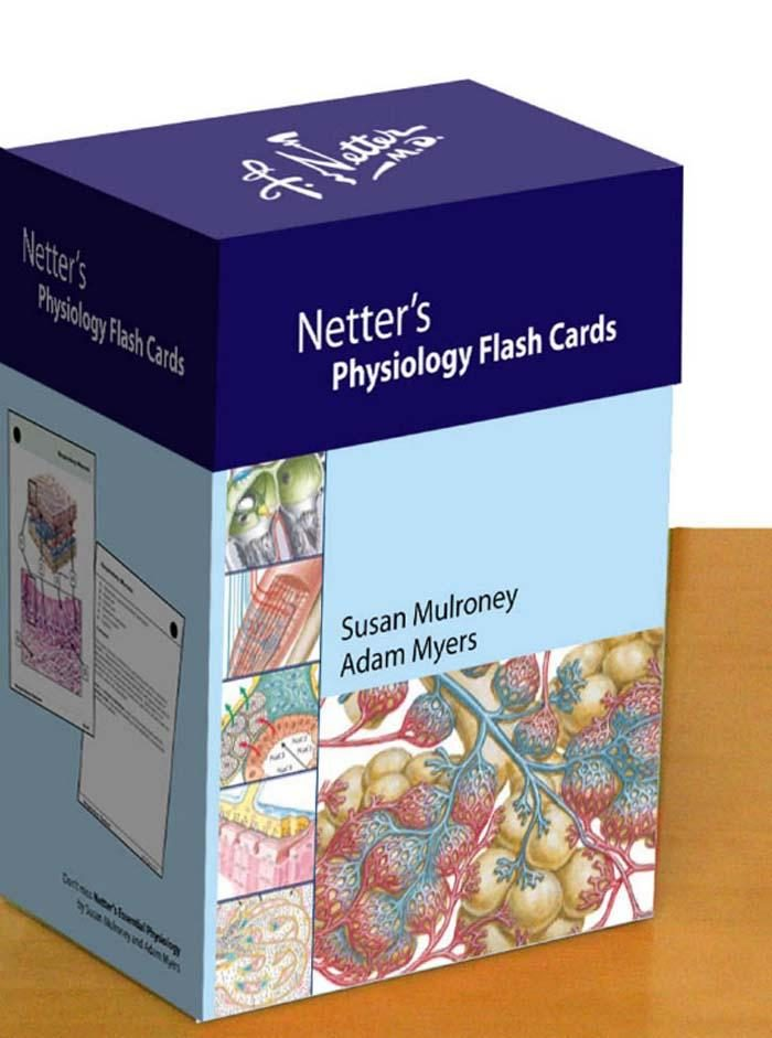 NETTER\'S PHYSIOLOGY FLASH CARDS E-BOOK EBOOK | SUSAN MULRONEY ...