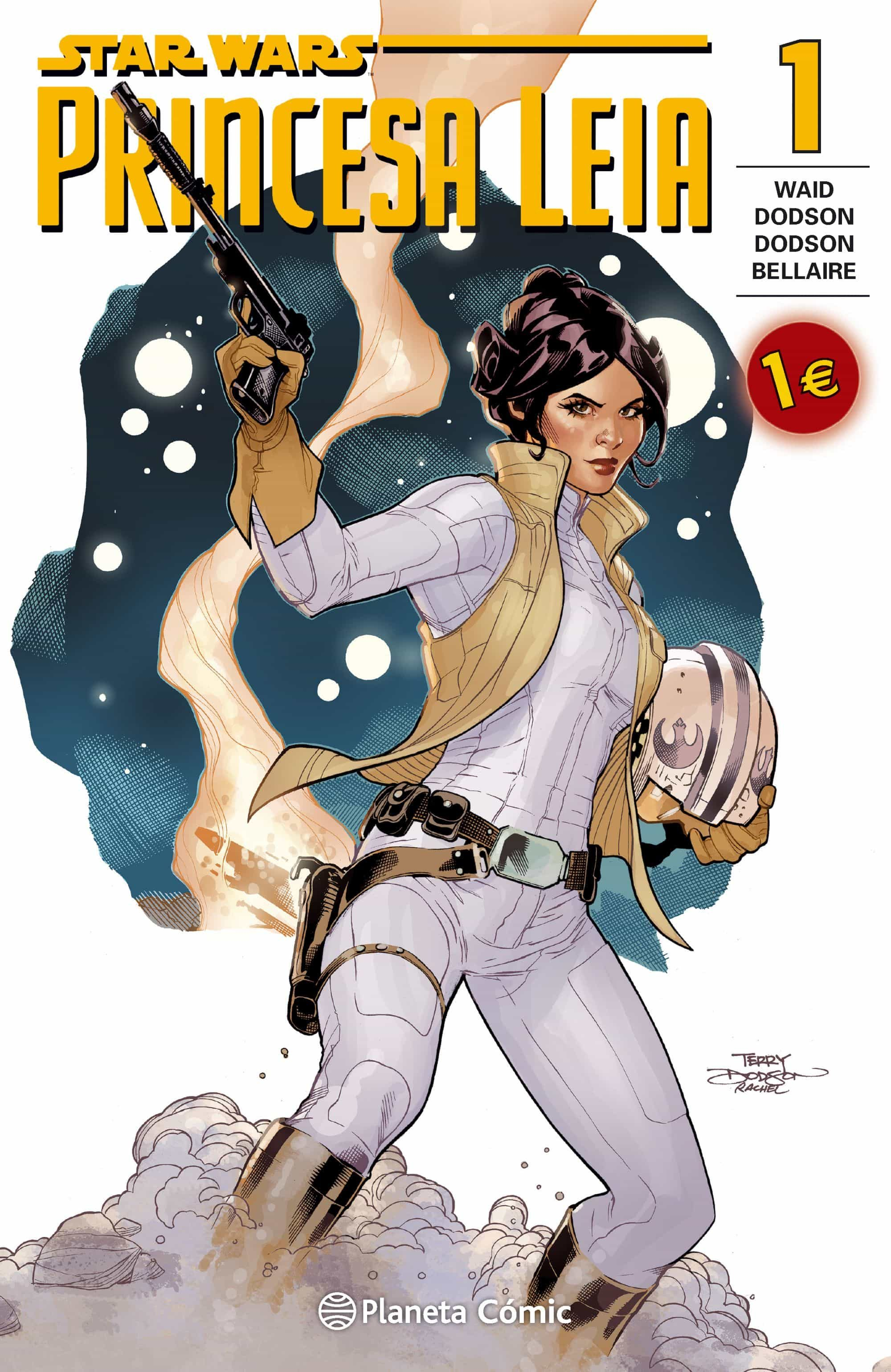star wars. princesa leia nº 1-mark waid-9788416244102
