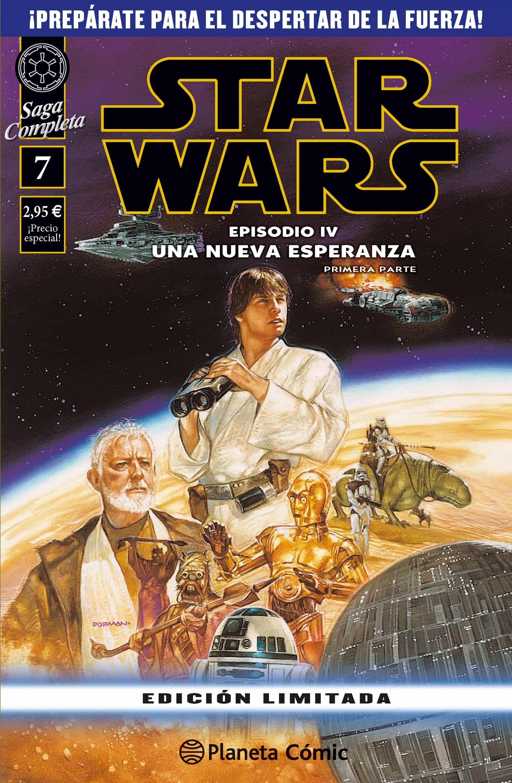 star wars 7: episodio iv (primera parte)-bruce jones-eduardo barreto-9788416401802