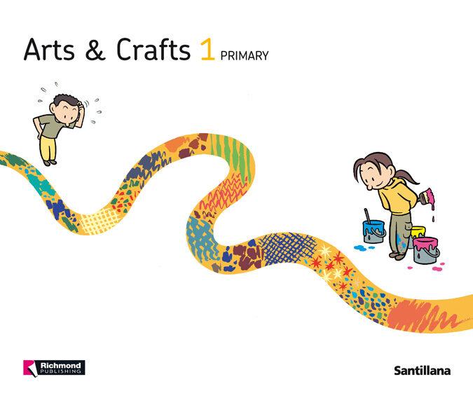 arts and crafts 1 student s book   1º primaria-9788468003702