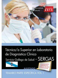 técnico/a superior en laboratorio de diagnóstico clínico. servicio gallego de salud (sergas). temario. vol.i-9788468160702