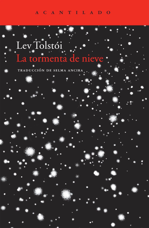 la tormenta de nieve-leon tolstoi-9788492649402