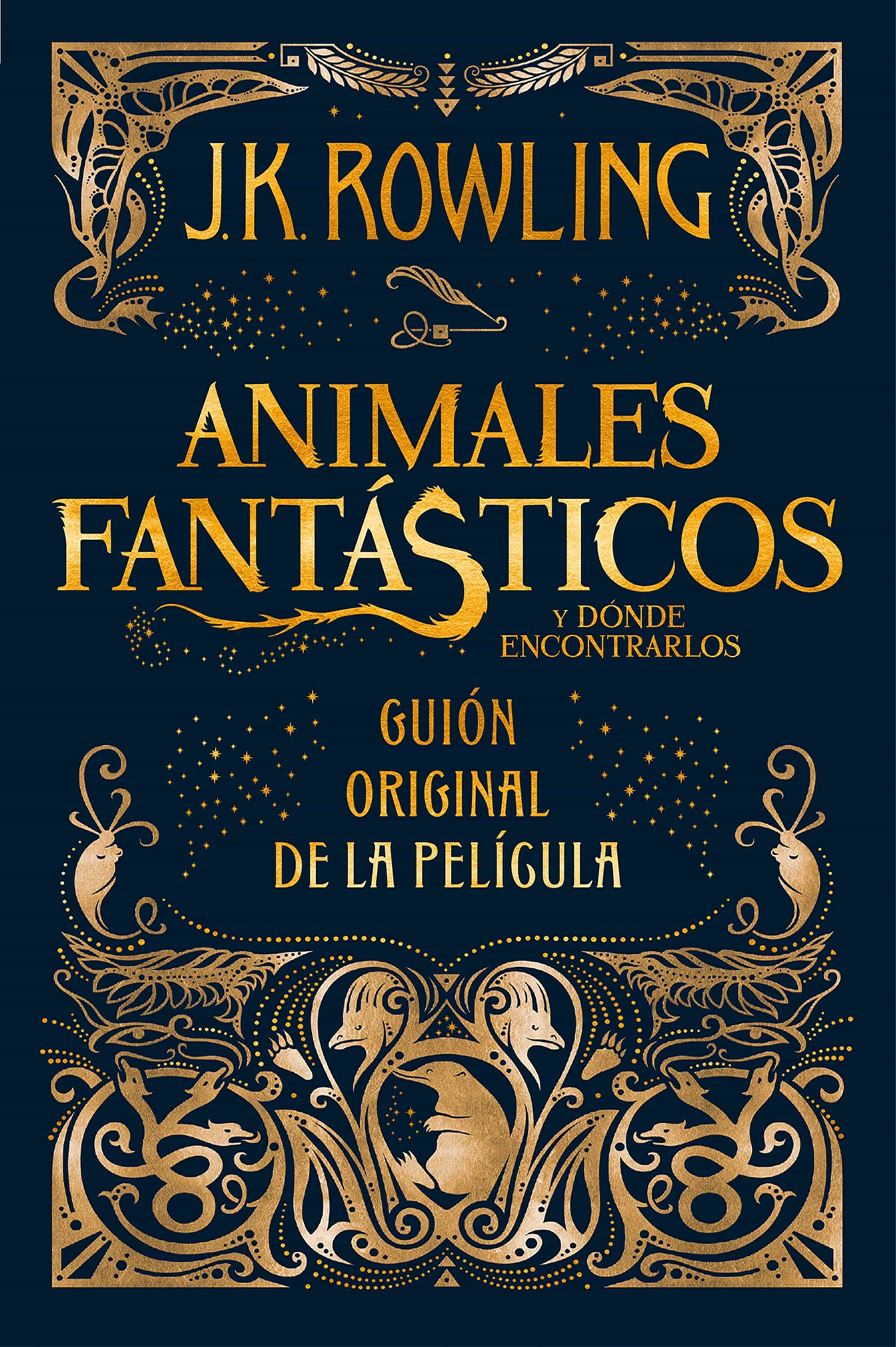 animales fantasticos y donde encontrarlos (guión original de la pelicula)-j.k. rowling-9788498387902