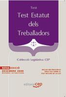 Test Estatut Dels Treballadors. Colleccio Legislativa Cep por Vv.aa.