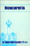 Homeopatia por Tomas Pablo Paschero Gratis