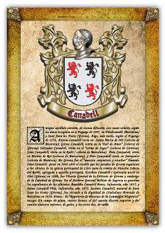 Apellido Canadell / Origen, Historia Y Heráldica De Los Linajes Y Apellidos Españoles E Hispanoamericanos   por Antonio Tapia epub