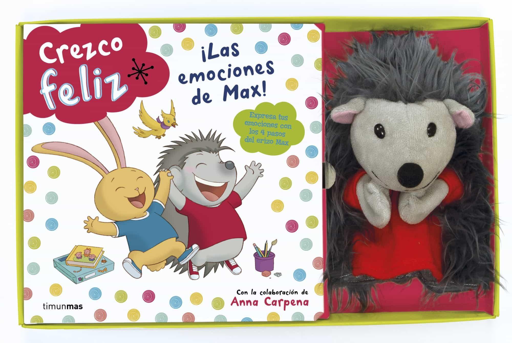 Crezco Feliz: ¡las Emociones De Max! (incluye Marioneta De Peluch E) por Ana Garcia-siñeriz epub