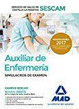 auxiliar de enfermería del servicio de salud de castilla-la mancha (sescam). simulacro de examen-9788414205112