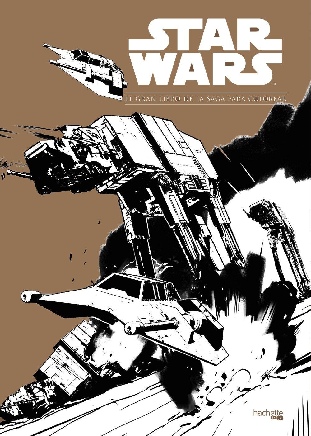 STAR WARS. EL GRAN LIBRO DE LA SAGA PARA COLOREAR | VV.AA. | Comprar ...