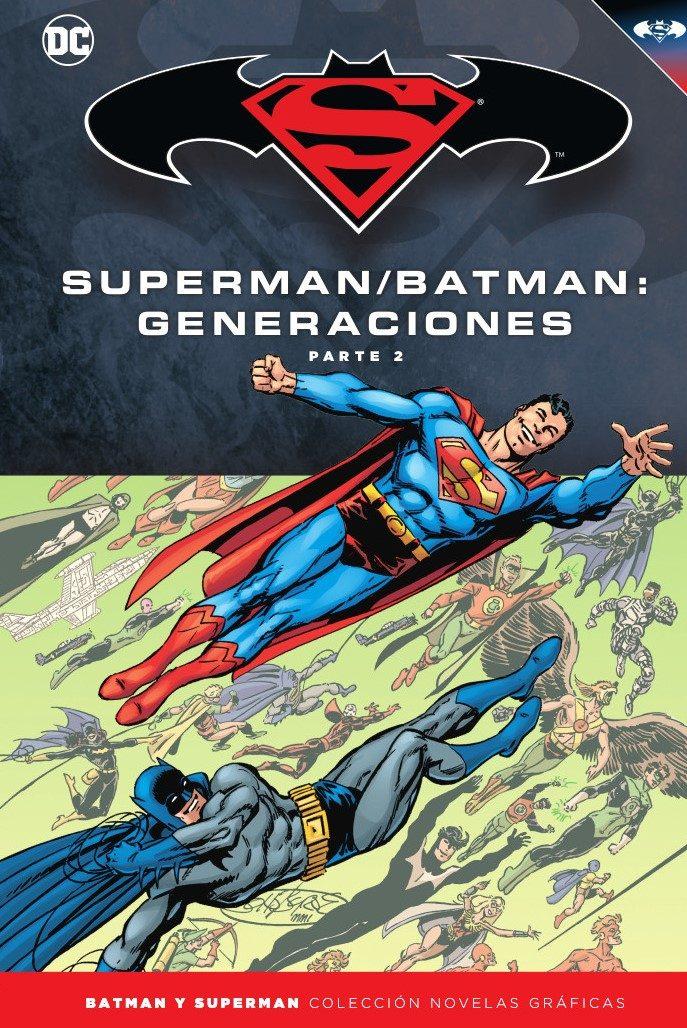 batman y superman - coleccion novelas gráficas nº 54: batman / superman: generaciones (parte 2)-john byrne-9788417063412