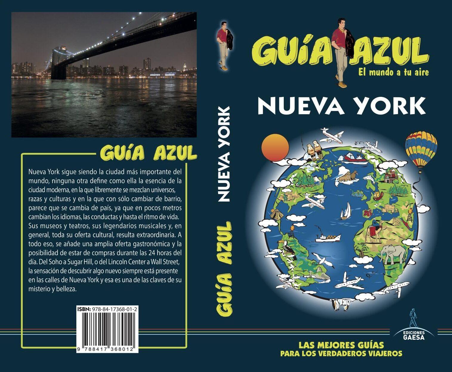 nueva york 2018 (guia azul) 7ª ed.-manuel monreal-luis mazarrasa-9788417368012