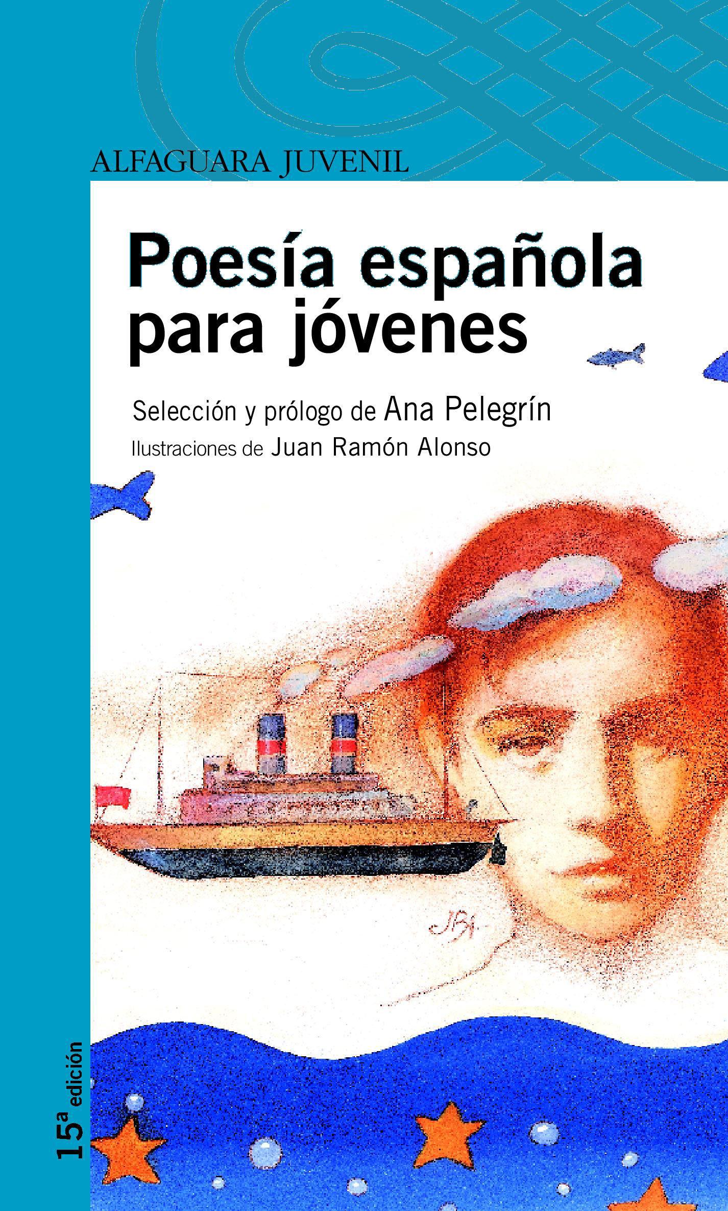 poesia española para jovenes-ana maria pelegrin-9788420465012