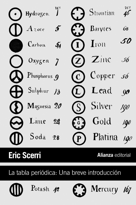 La tabla periodica una breve introduccion eric scerri comprar la tabla periodica una breve introduccion eric scerri 9788420674612 urtaz Choice Image