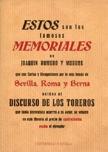 Estos Son Los Famosos Memoriales De Joaquin Romero Y Murube por Vv.aa. epub