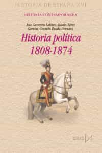 historia politica 1808-1874-german rueda hernanz-9788470903212