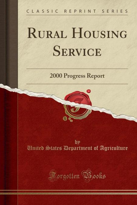 Rural Housing Service PDF Descarga gratuita