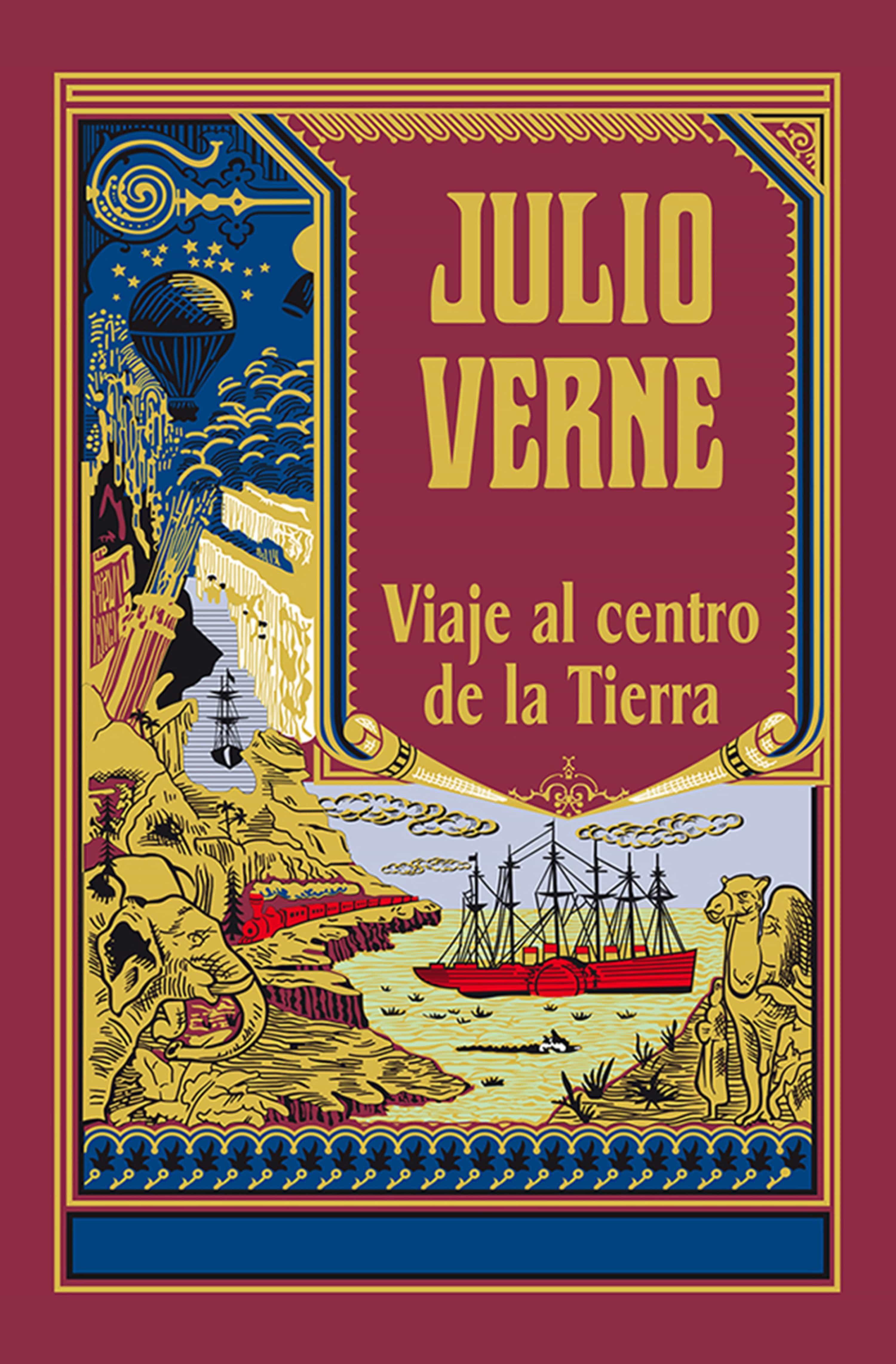 VIAJE AL CENTRO DE LA TIERRA EBOOK | JULES VERNE