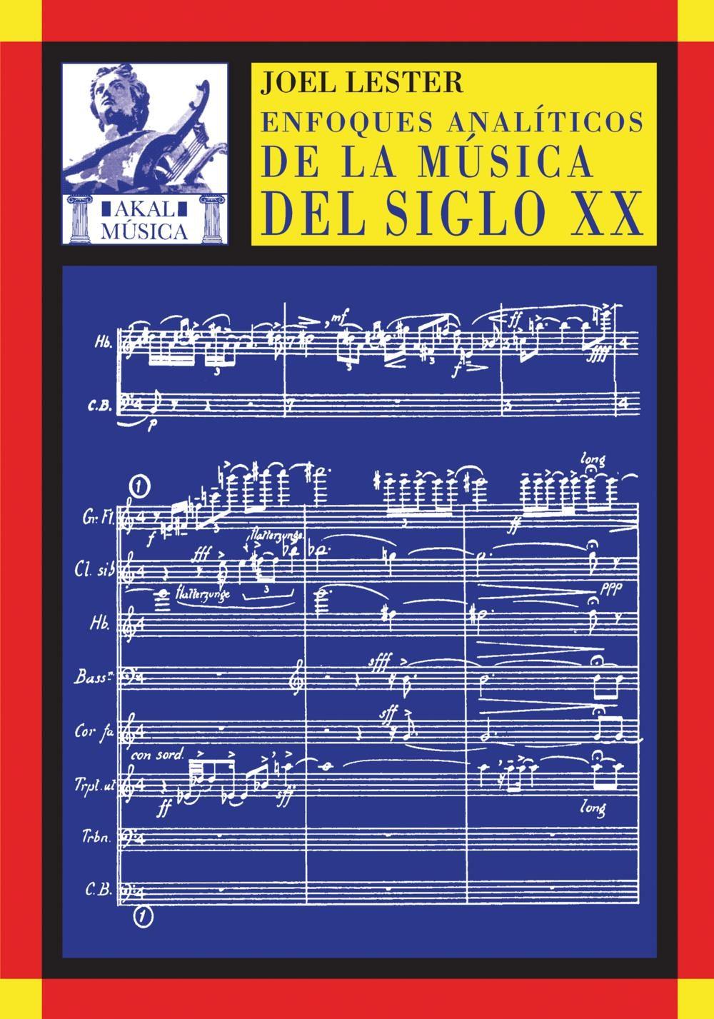 enfoques analiticos de la musica del siglo xx-9788446016922
