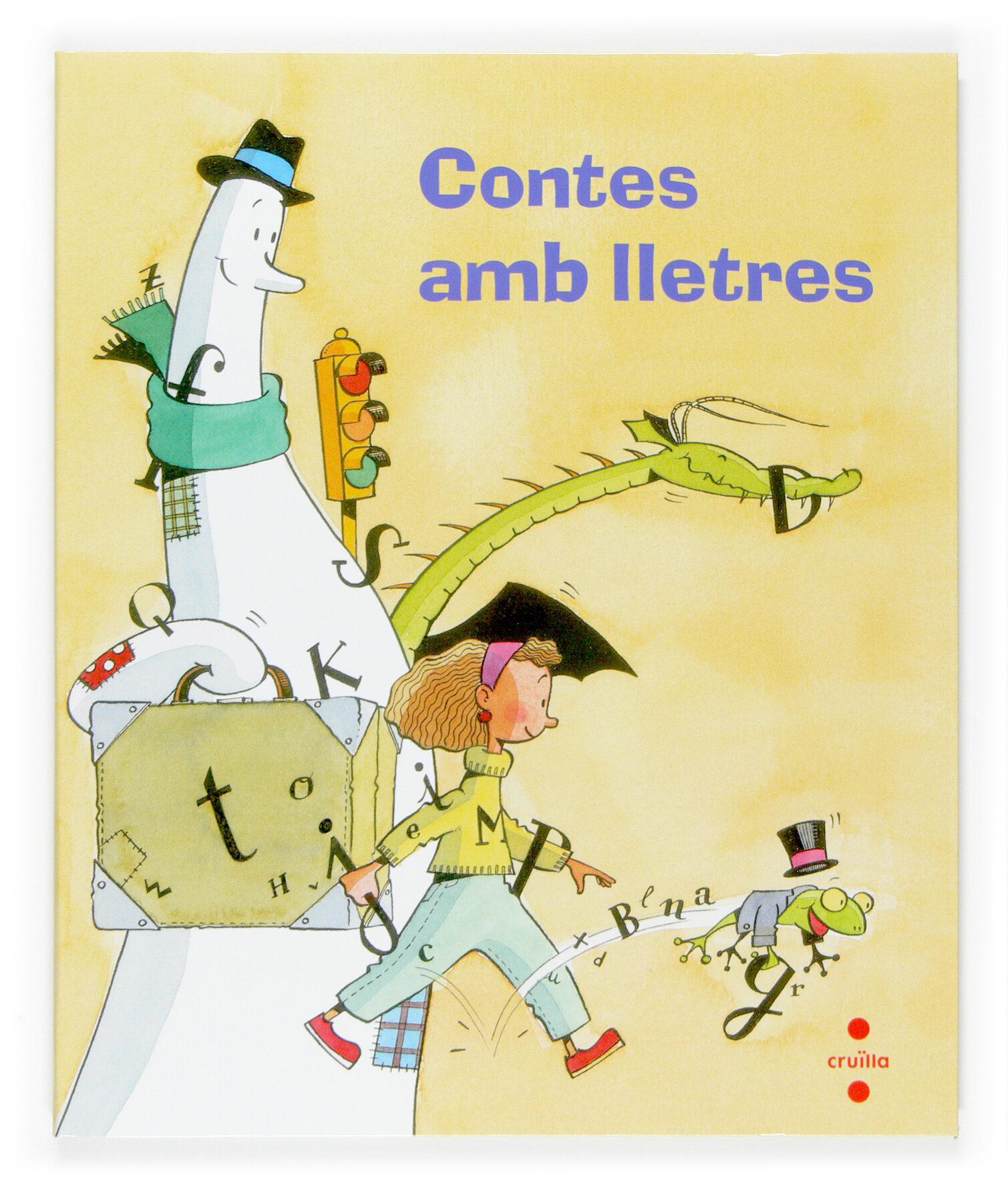 Contes Amb Lletres 1er Primaria Cicle Inicial por Vv.aa.