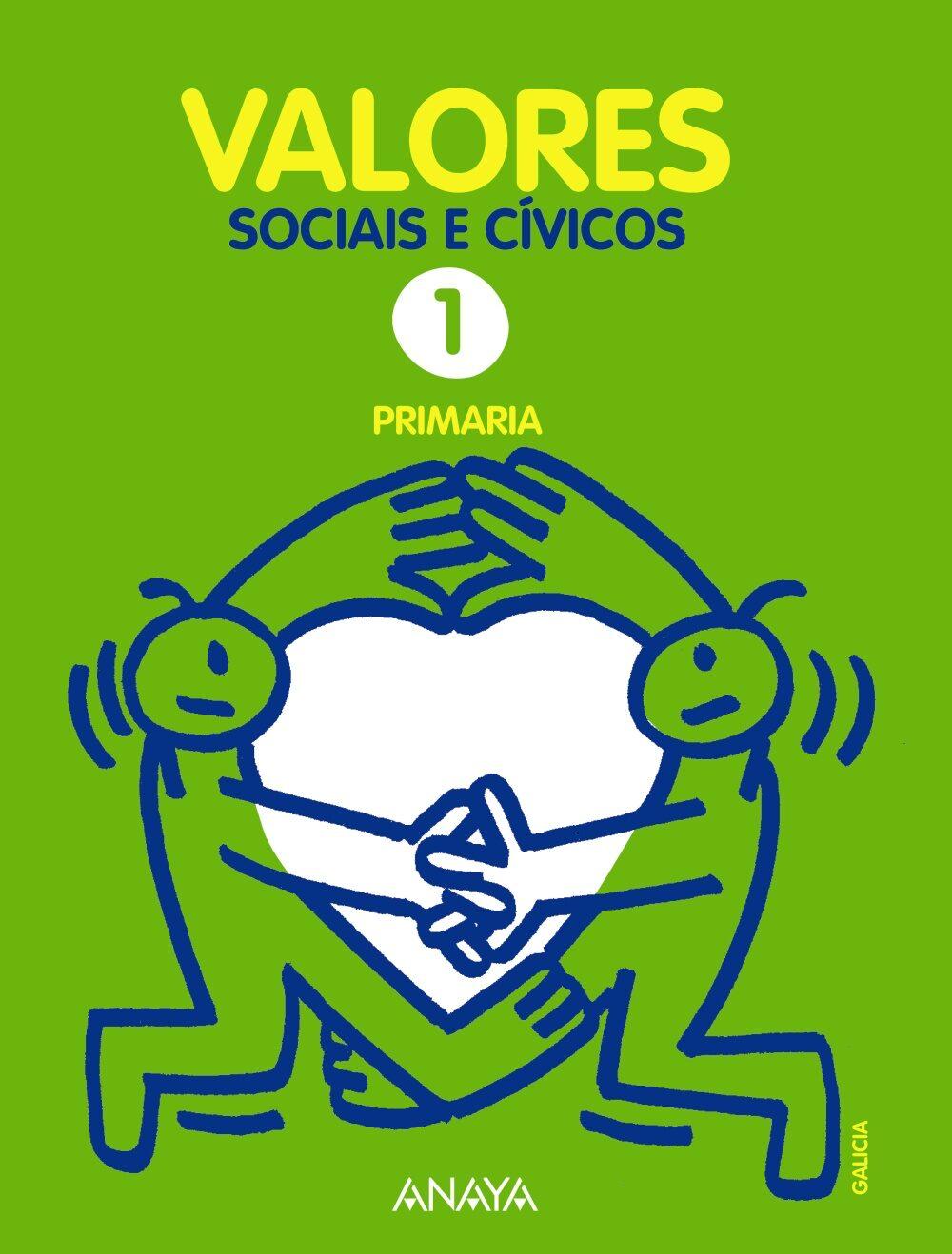 Valores Sociais E Cívicos 1.  Lucena-salamanca. 1º Primer Ciclo por Vv.aa. epub
