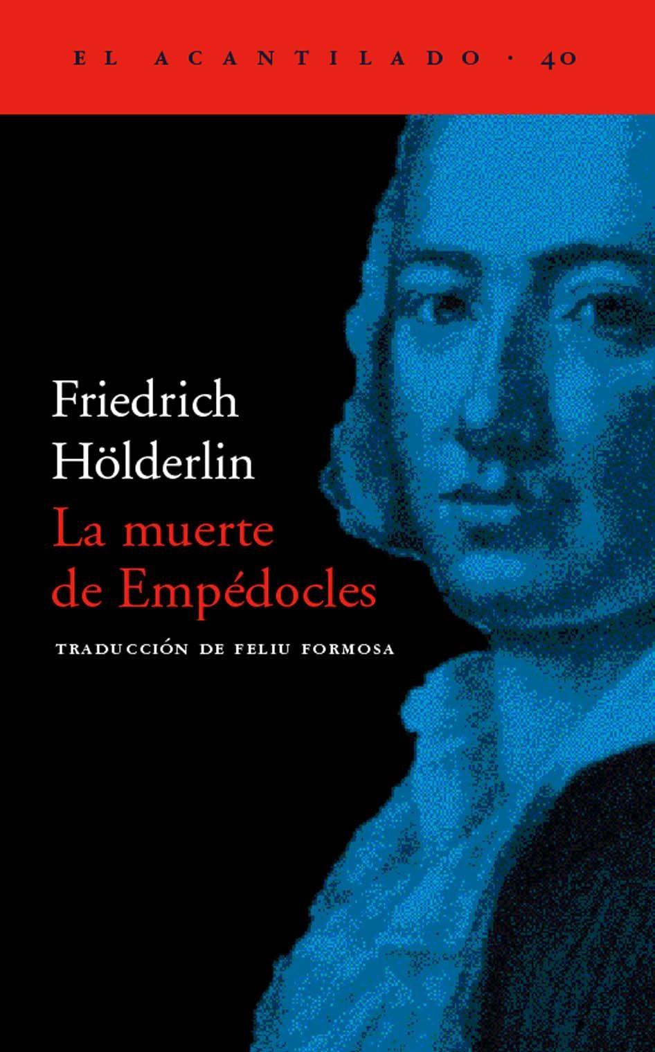 Resultado de imagen de Holderlin libro