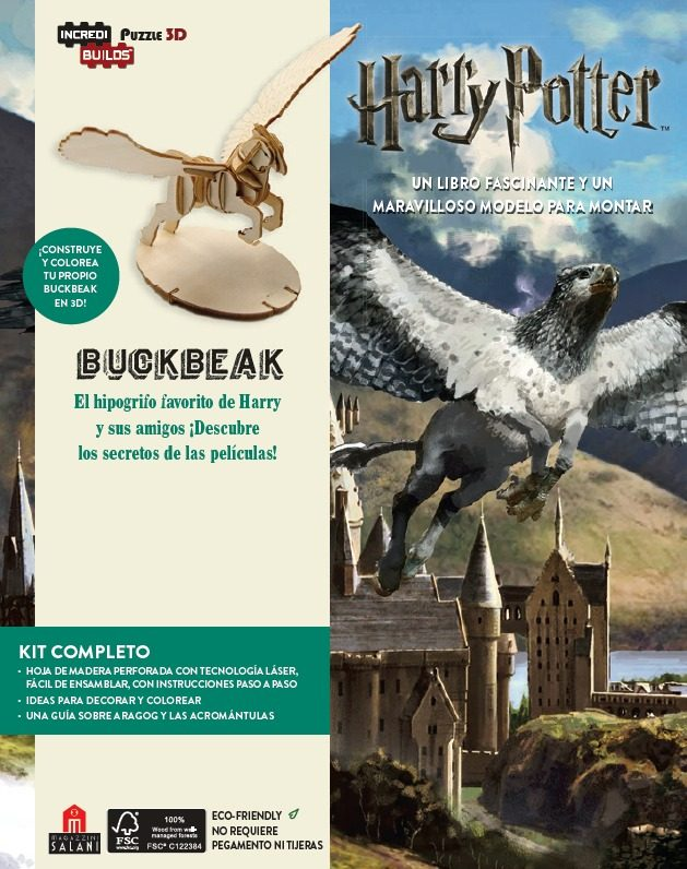 INCREDIBUILDS HARRY POTTER BUCKBEAK