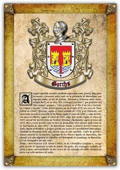 Apellido Gorchs / Origen, Historia Y Heráldica De Los Linajes Y Apellidos Españoles E Hispanoamericanos   por Antonio Tapia epub