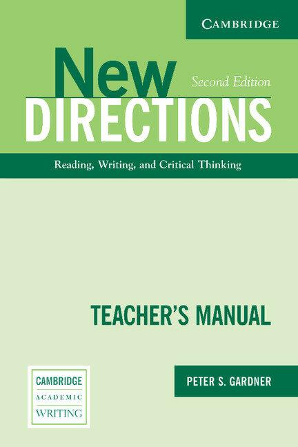 New Directions. Teacher S Manual (2nd Ed.) por Peter S. Gardner epub