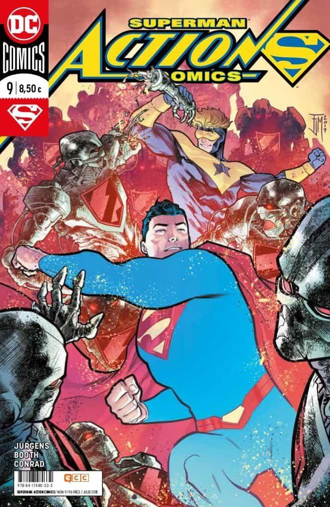Superman: Action Comics Núm. 09 (renacimiento) por Dan Jurgens