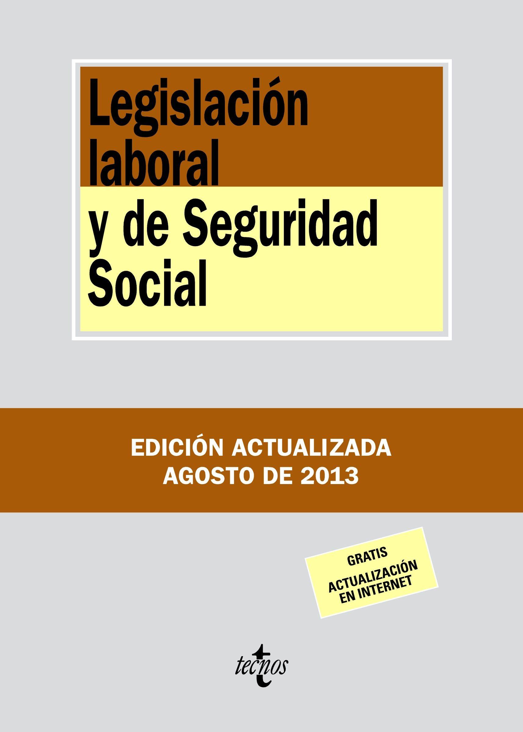 LEGISLACIÓN LABORAL Y DE SEGURIDAD SOCIAL EBOOK | VV.AA. | Descargar ...