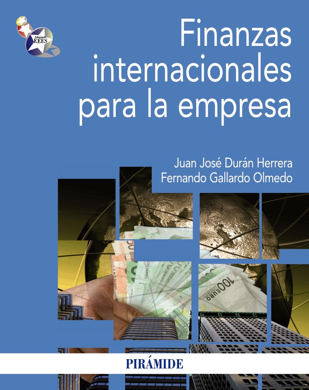Resultado de imagen para Finanzas internacionales para la empresa. portada