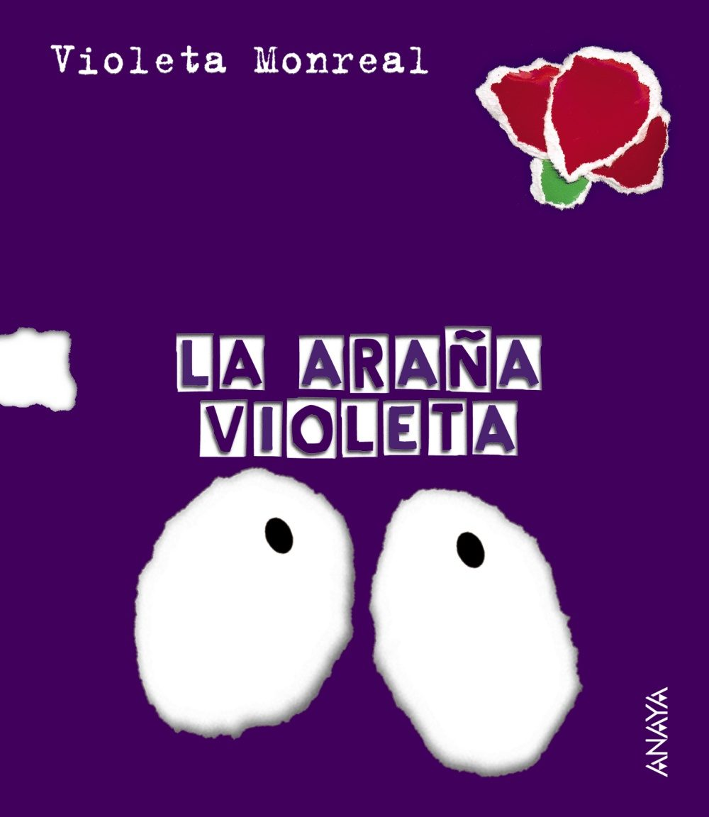 la araña violeta-violeta monreal-9788466726832
