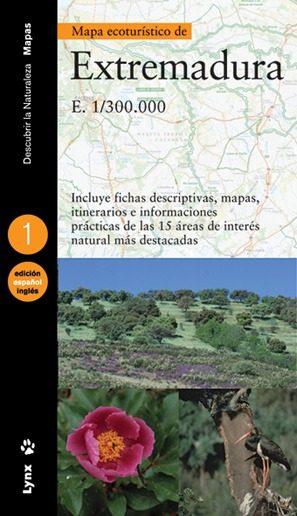 Mapa Ecoturistico De Extremadura por Vv.aa.