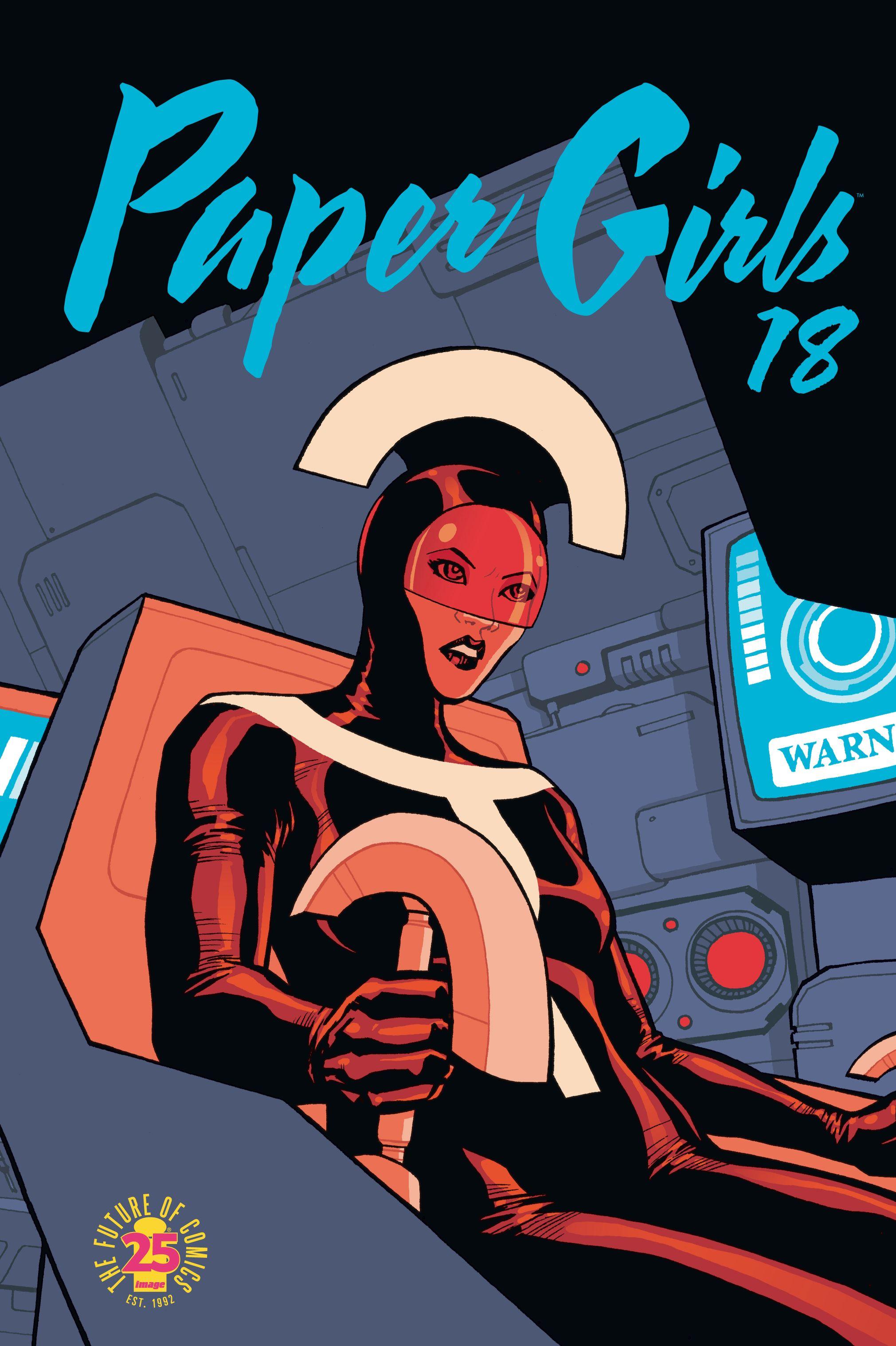 Paper Girls Nº 18/30 por Brian K. Vaughan;                                                           Cliff Chiang
