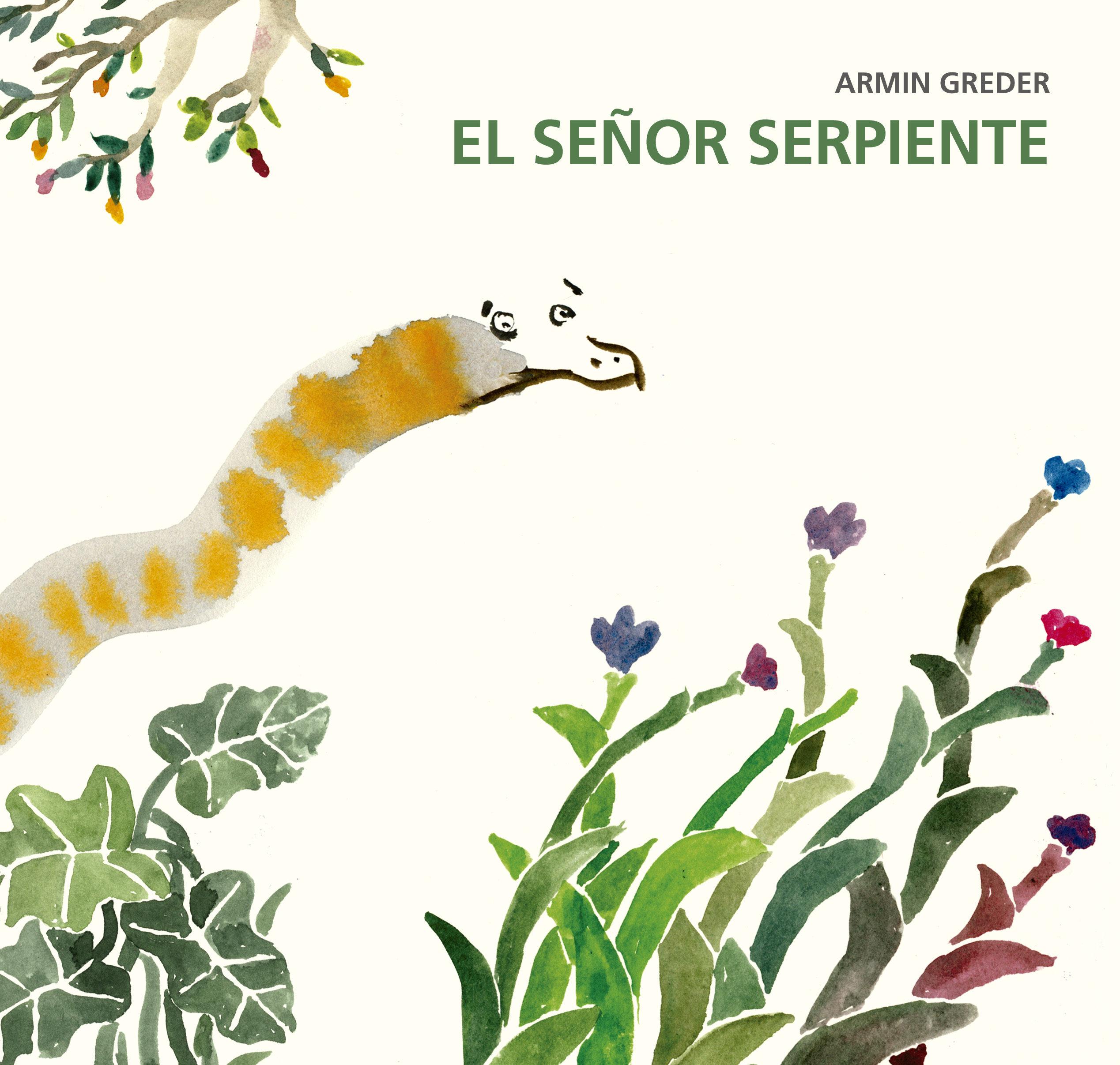 Resultado de imagen de El señor serpiente, Armin Greder