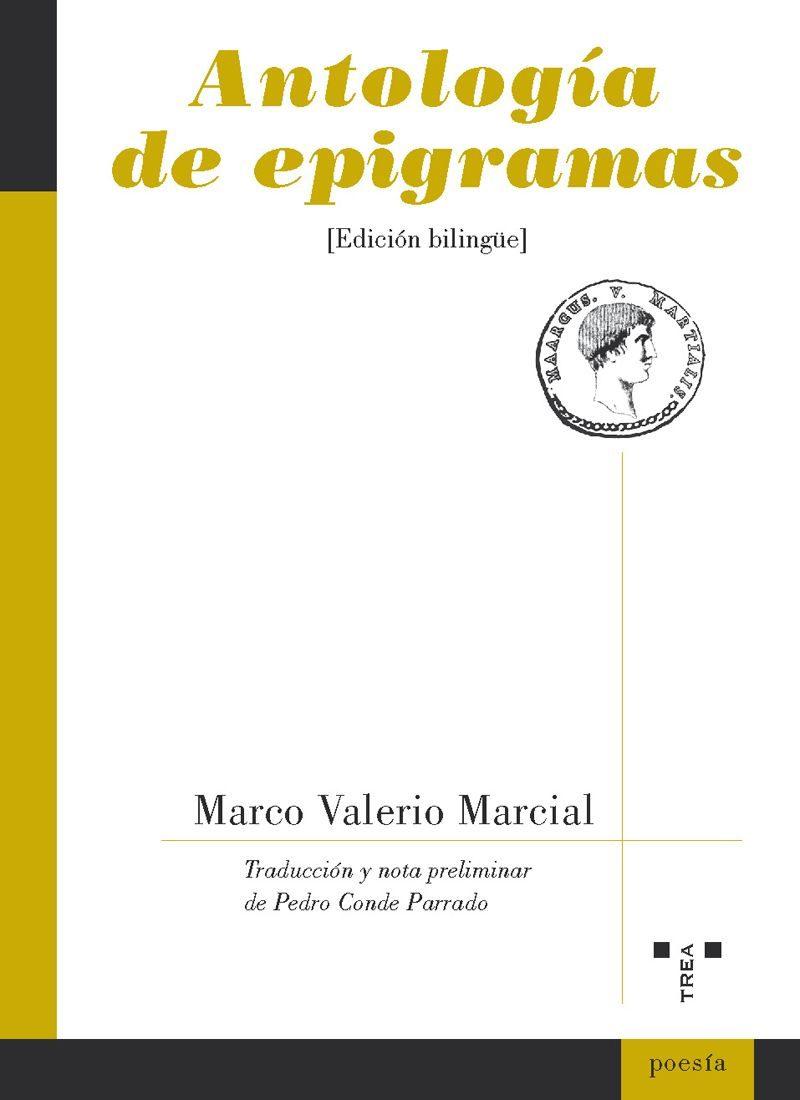 ANTOLOGIA DE EPIGRAMAS | MARCO VALERIO MARCIAL | Comprar libro ...