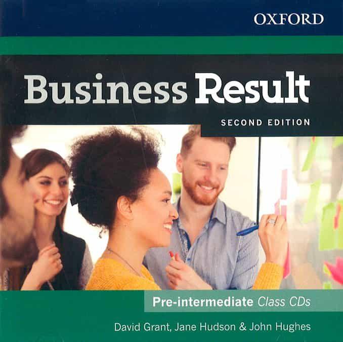 business result pre-intermediate. class audio cd 2nd edition-david grant-jane hudson-9780194738842