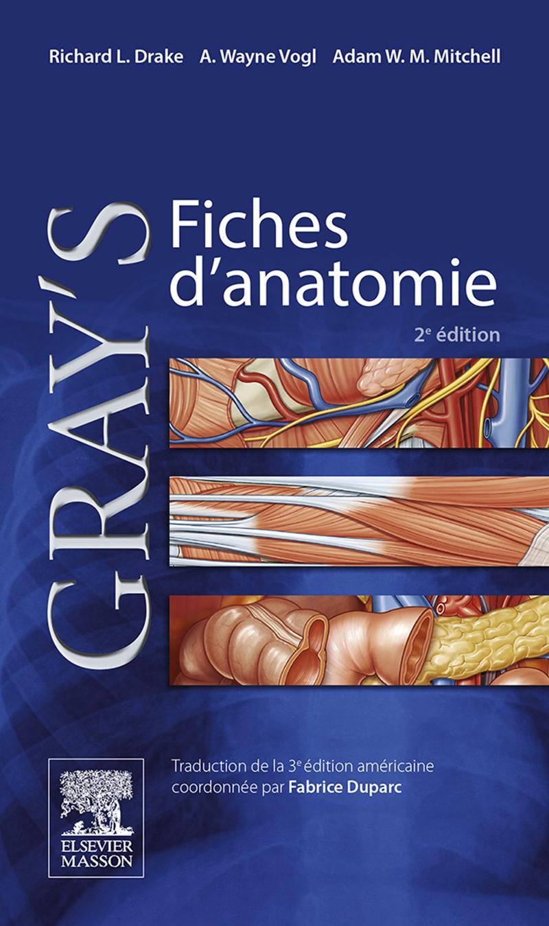 GRAY\'S FICHES D\'ANATOMIE EBOOK | RICHARD L. DRAKE | Descargar libro ...