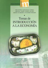 temas de introduccion a la economia-francisco gonzalez gomez-9788433851642