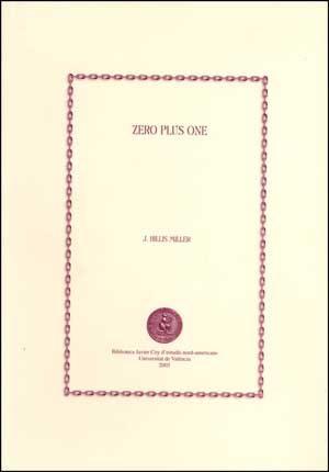 Zero Plus One por H. Hillis Miller