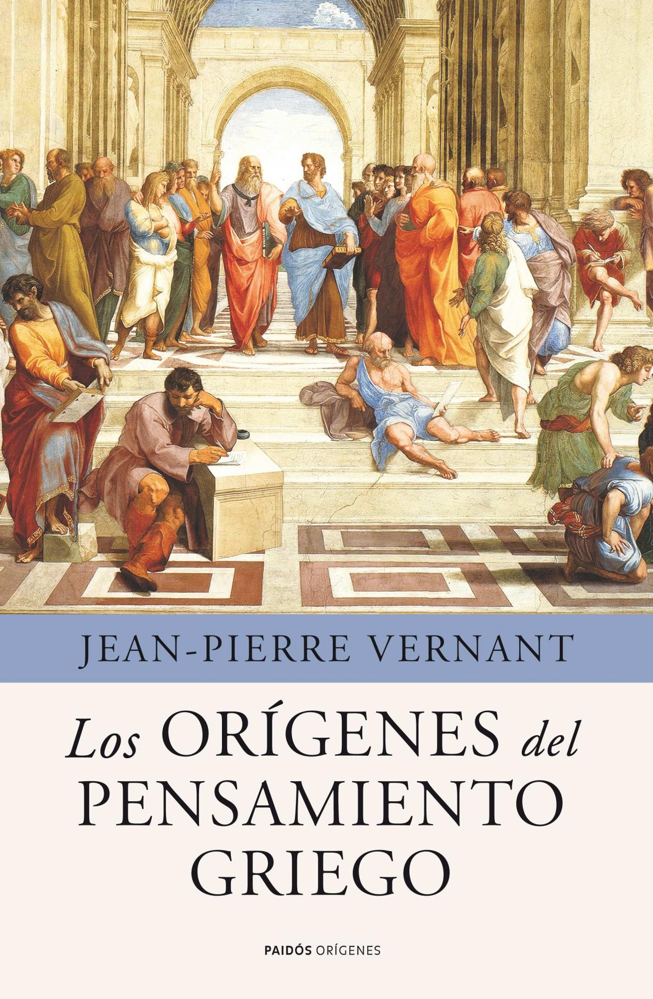 Los origenes del pensamiento griego jean pierre vernant 9788449325342