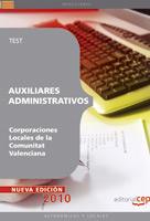 auxiliares administrativos corporaciones locales de la comunitat valenciana.text-9788468100142