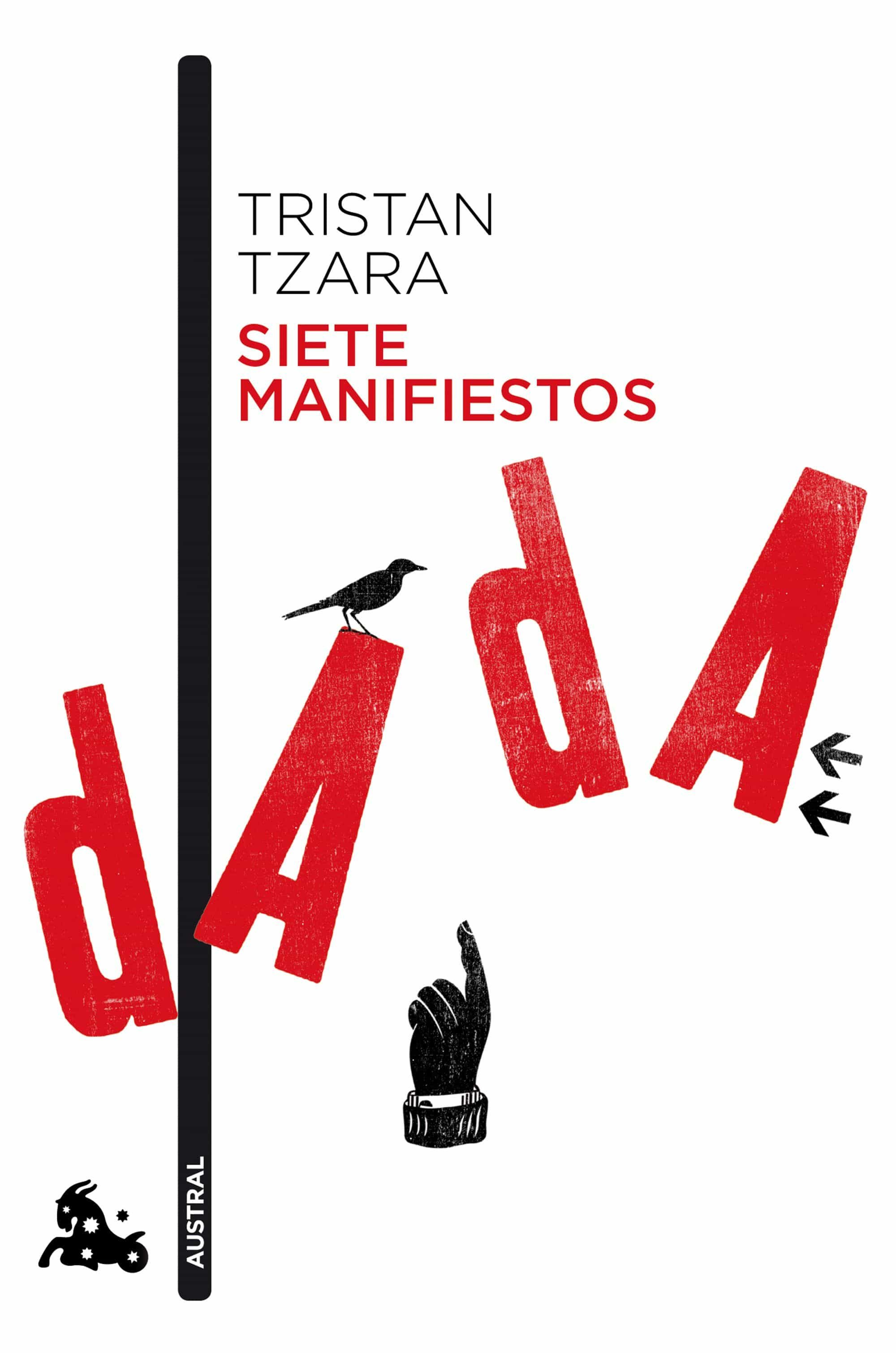 siete manifiestos dada-tristan tzara-9788490661642