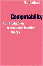 Computability: An Introduction To Recursive Function Theory por N. J. Cutland epub