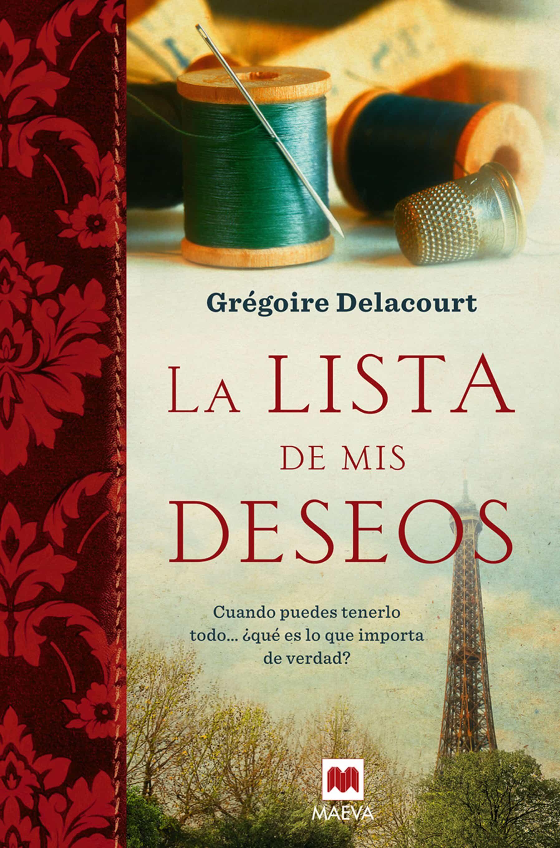 la lista de mis deseos-gregoire delacourt-9788415532552