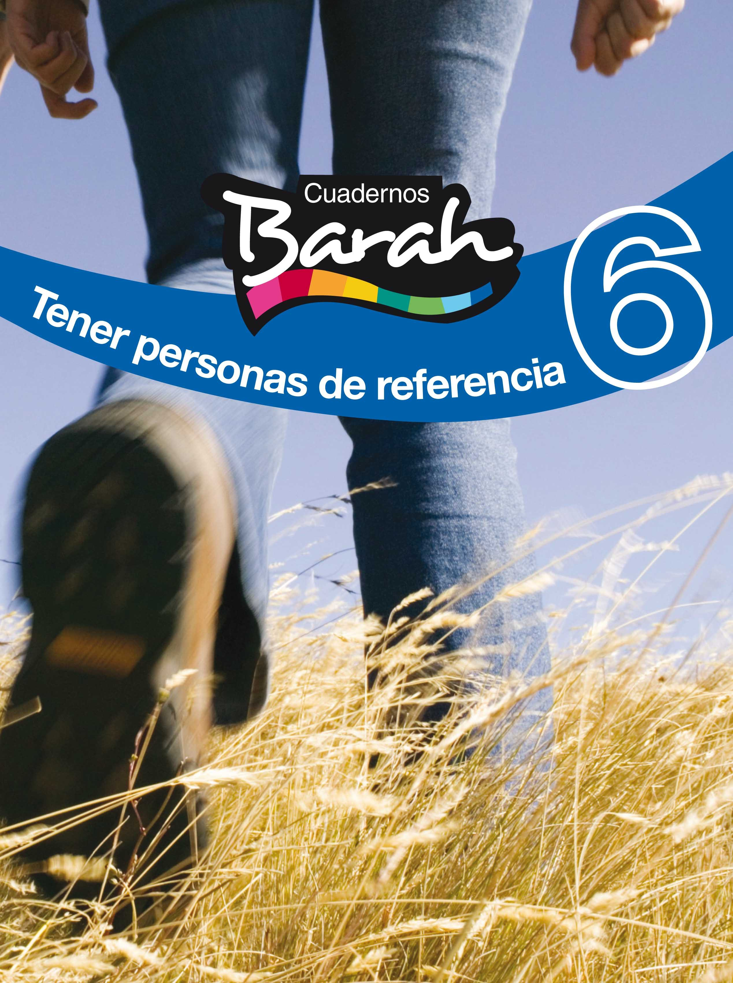 Religion 4º Eso Cuaderno Barah 6 Tener Personas De Referencia por Vv.aa.