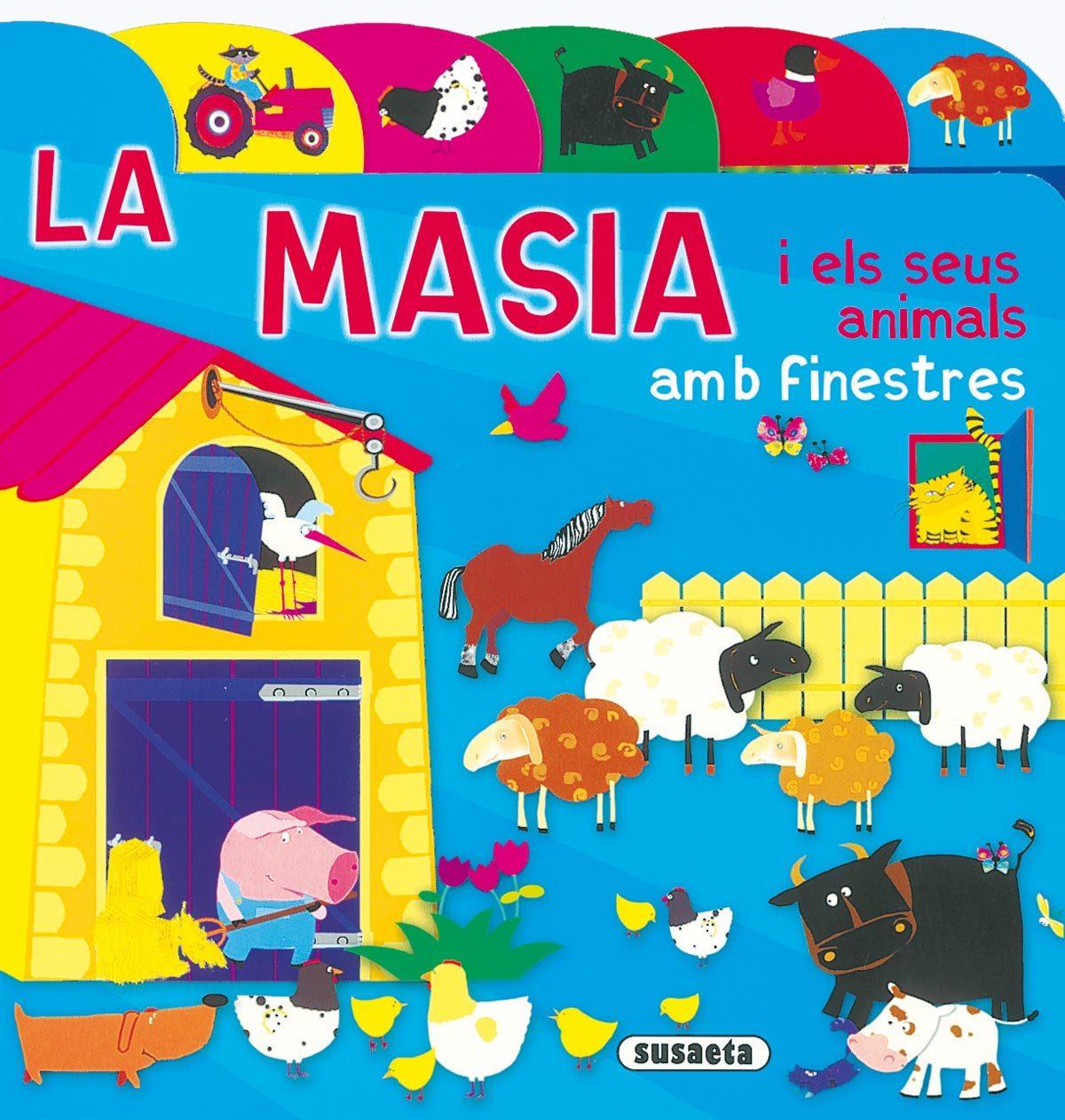 La Masia I Els Seus Animals por Vv.aa. Gratis