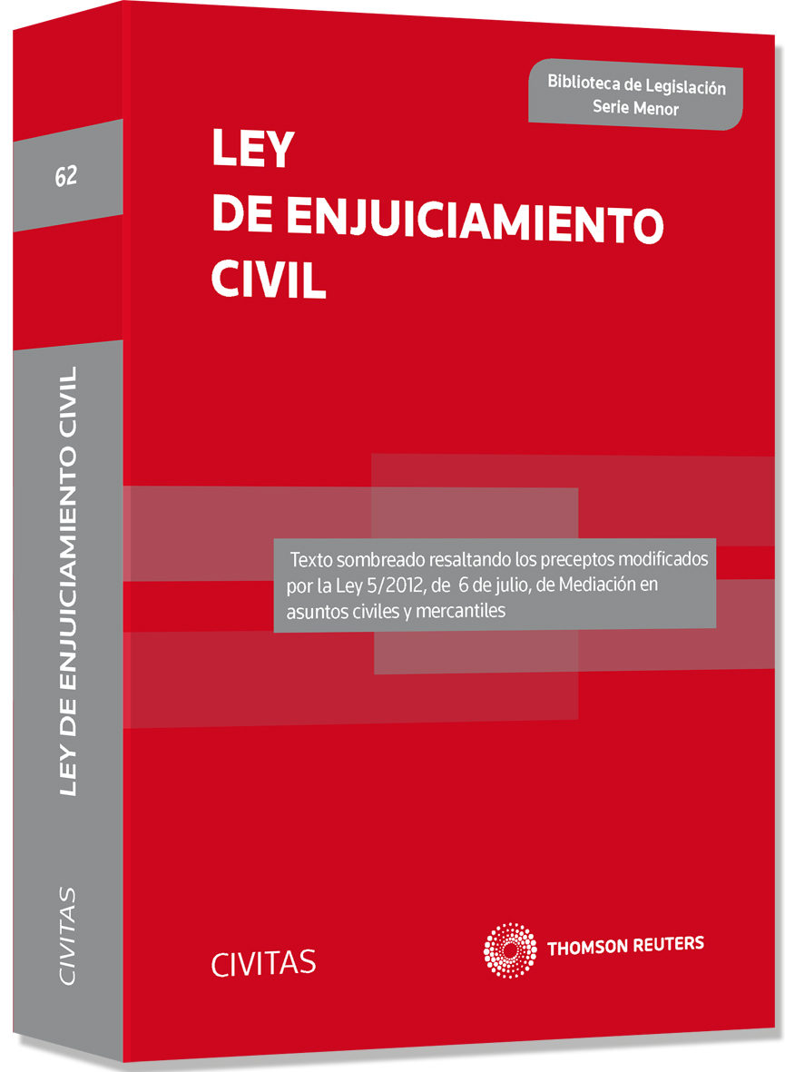 LEY DE ENJUICIAMIENTO CIVIL PDF DOWNLOAD